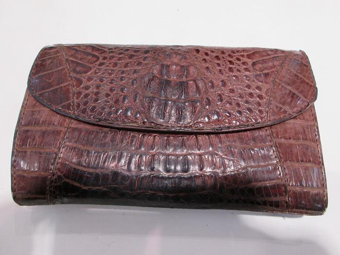 クロコの革で同型のお財布作製依頼