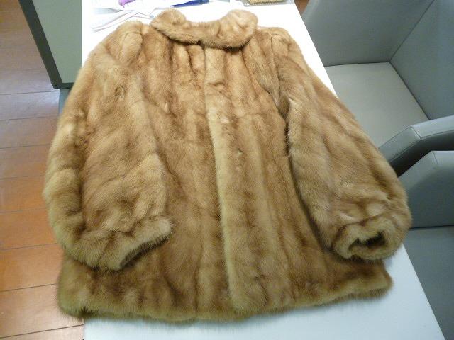 ミンクのハーフコートをリフォームしたい