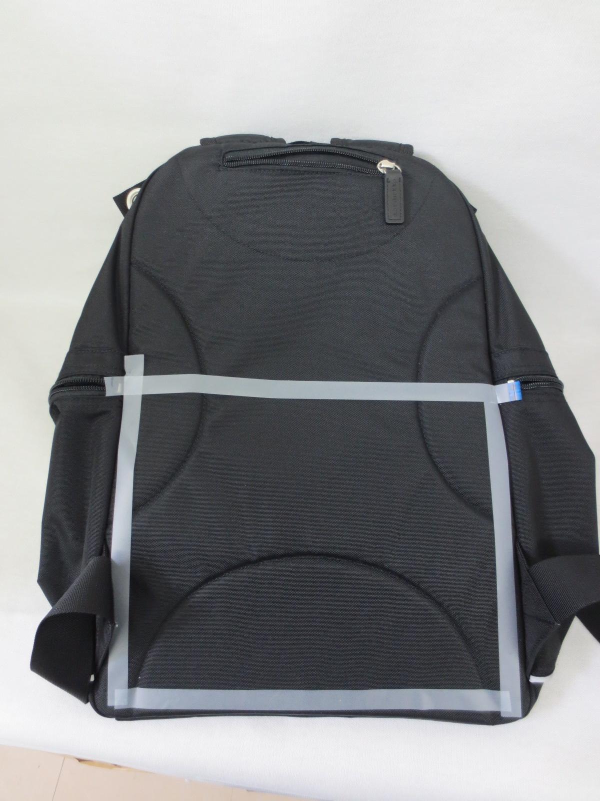 リュックの白枠の位置にポケットを作製